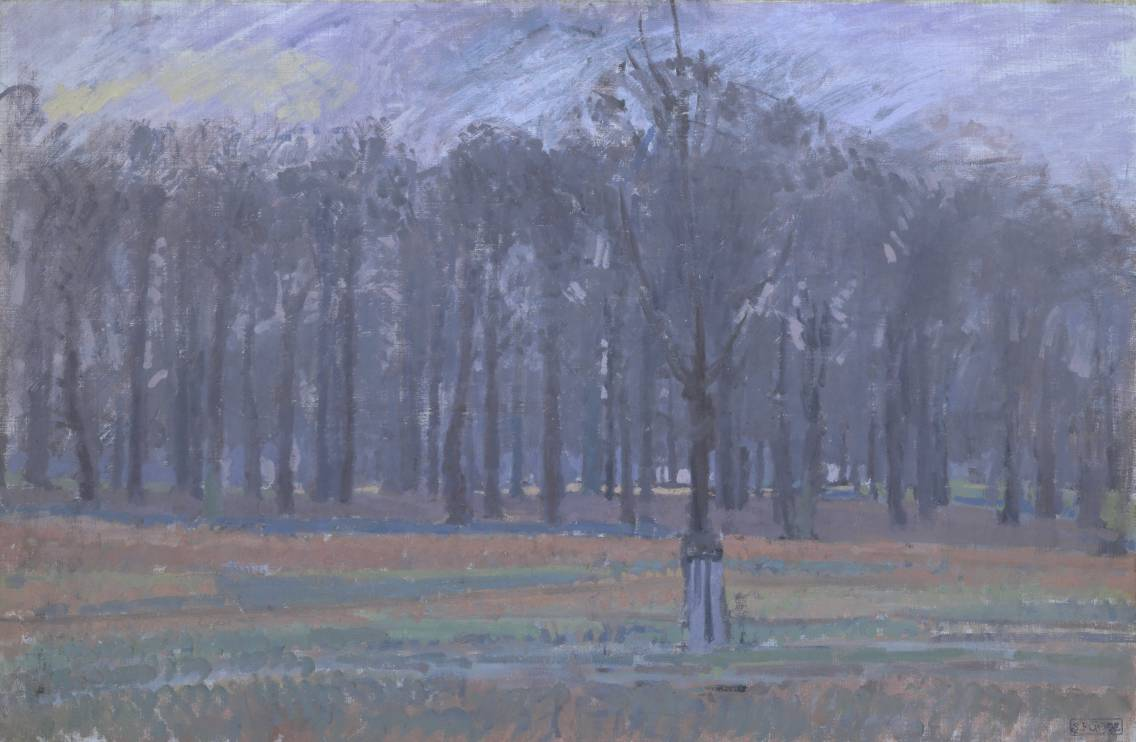 Richmond Park c.1914 by Spencer Gore 1878-1914