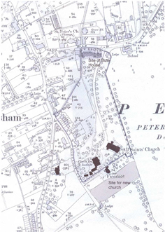 Petersham map