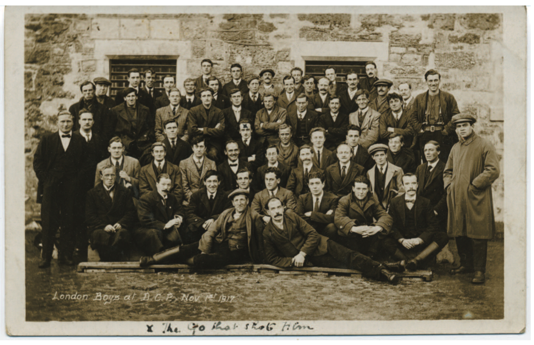 Conscientious Objectors at Dartmoor Work Camp