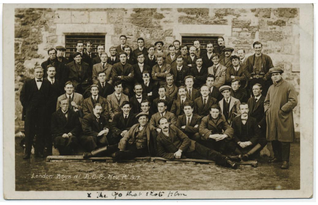 Conscientious Objectors at Dartmoor Work Camp