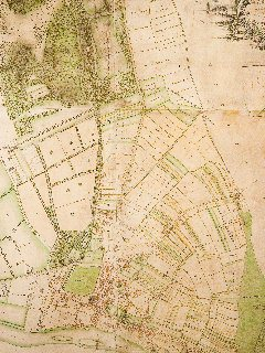 Thomas Richardson's 1771 map of Richmond