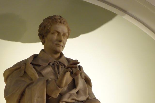 Statue of Kean in Drury Lane Rotunda