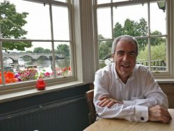 Our President, architectural historian Paul Velluet